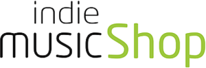 logo indie music shop
